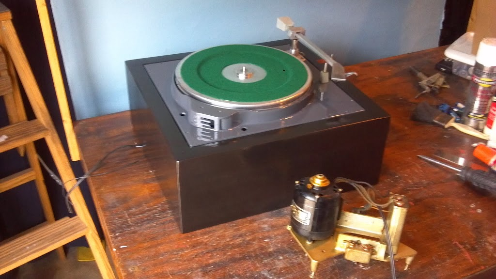 Collins Broadcast Turntable Goes Under The Knife Audio
