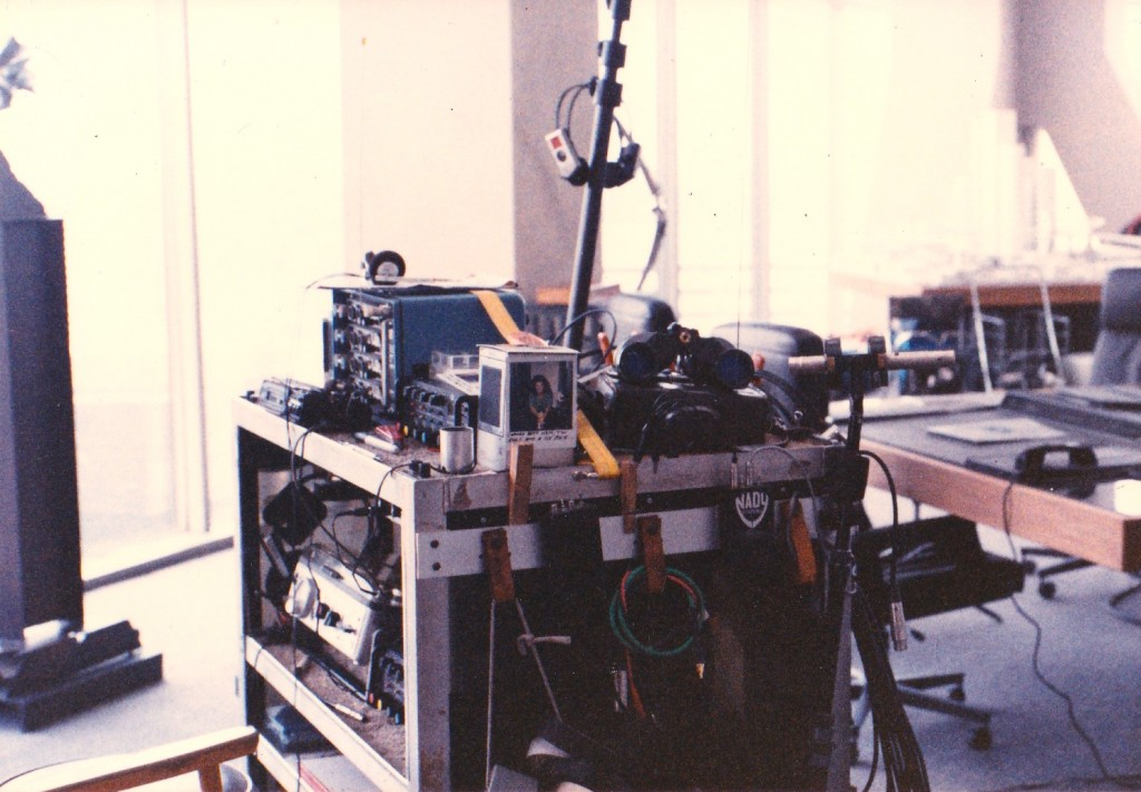 robocop, robert wald, sound mixer, sound cart, verrando, texas sound mixer