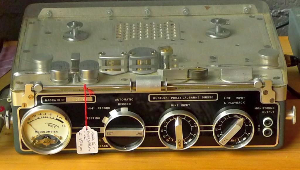 Nagra III tape recorder 1960