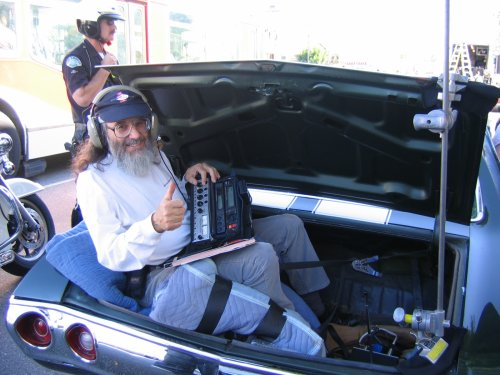 Jim Tannenbaum Location Sound Mixer Car Shot